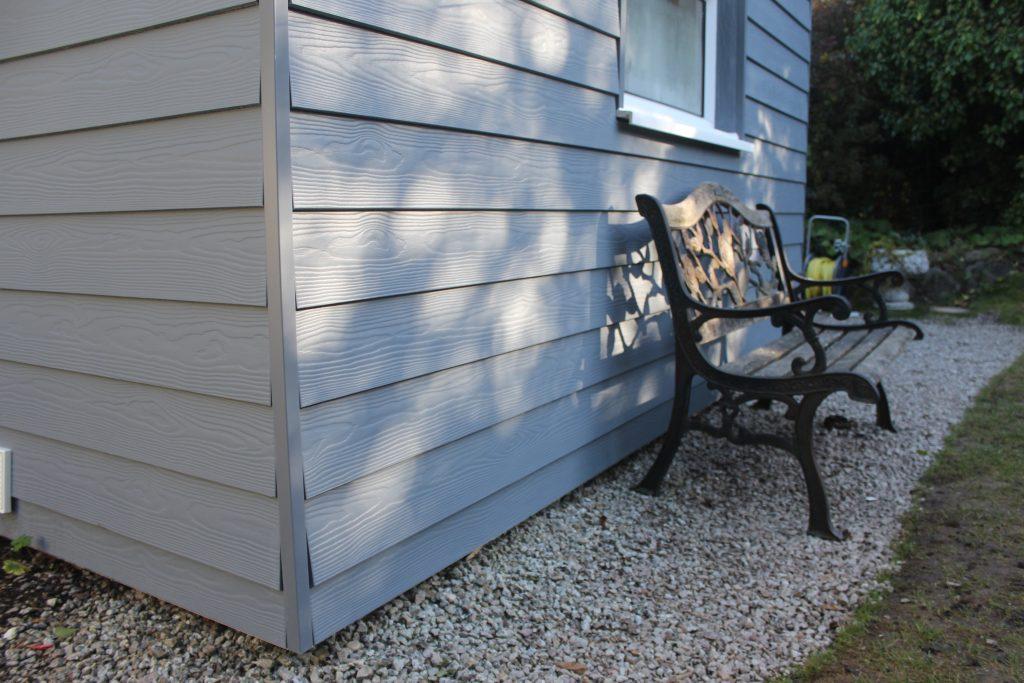 C15 Dark Grey Cedral Lap woodgrain St Ives